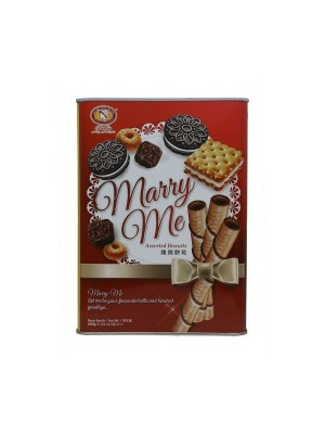 Bellie Marry Me Assorted Biscuits (600 gm)