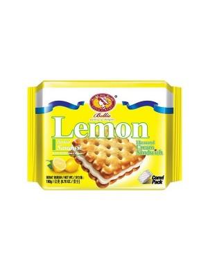 Bellie Cream Sandwich Biscuit - Lemon (190 gm)