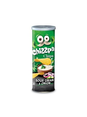 Chizzpa Potato Crisp Sour Cream & Onion Chips (160 gm)