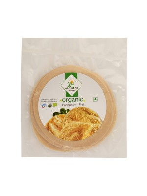 24 Mantra Papad Plain 100 gm