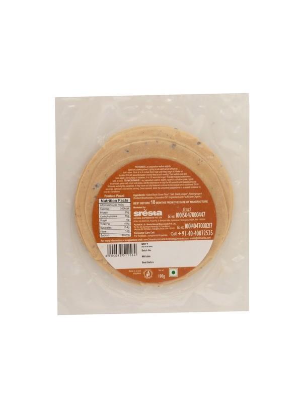 24 Mantra Spiced Papads 100 gm