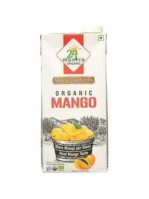 24 Mantra Mango Juice 1 ltr