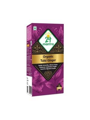 24 Mantra Tulsi Ginger 50 gm