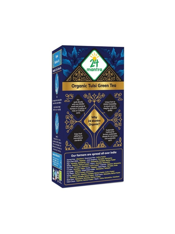 24 Mantra Tulsi Green Tea 50 gm