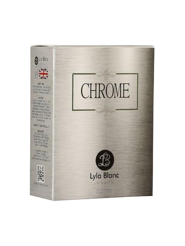 Lyla Blanc Chrome Perfume 100 ml EDP For Men